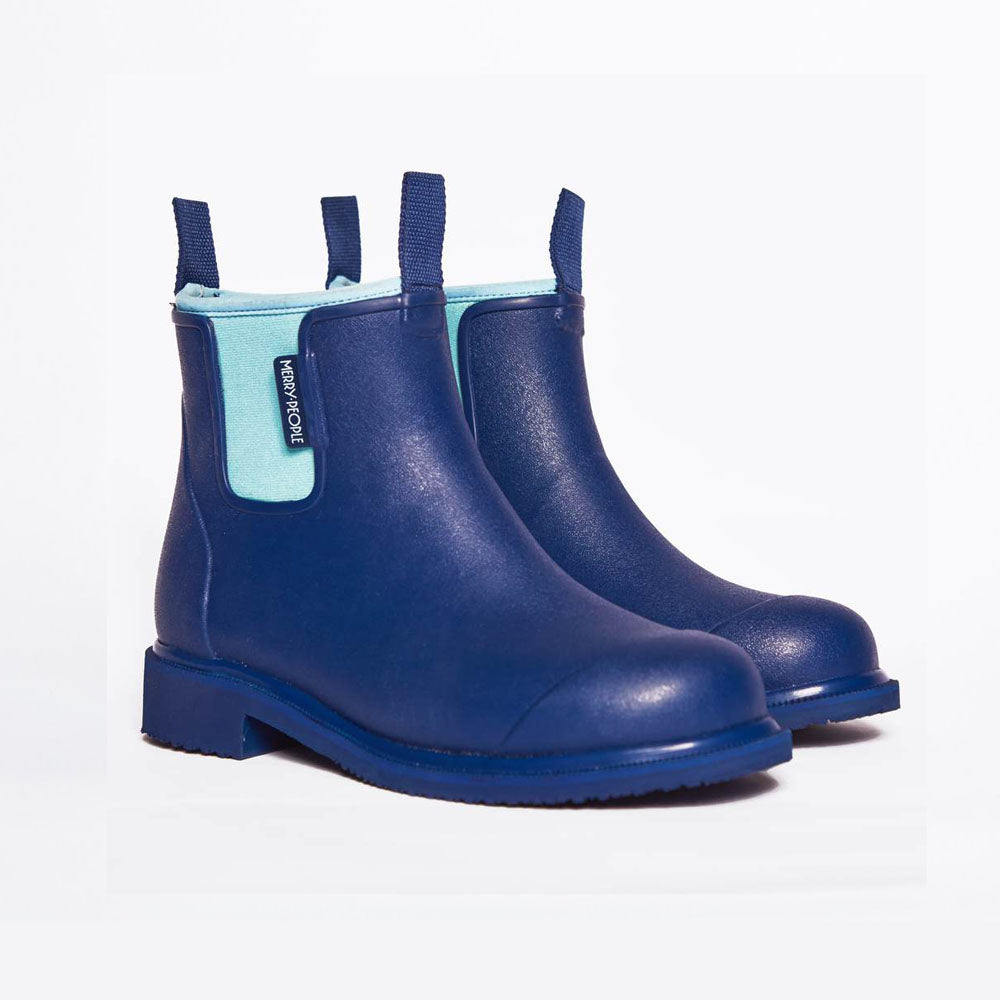 Merry People Bobbi Gumboots - Bright Blue