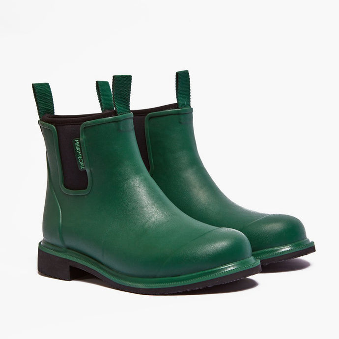 Merry People Bobbi Gumboots - Alpine Green & Black