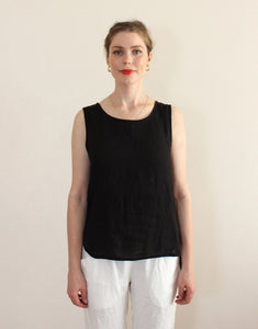 Little Lies Anya Top - Black
