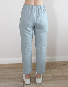 Little Lies Luxe Pants - Cloud