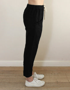 Little Lies Luxe Pants - Black