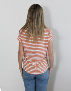 Little Lies Oscar Tee - Coral