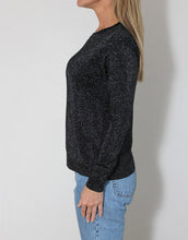 Load image into Gallery viewer, Frankie Long Sleeve Lurex Top - Black