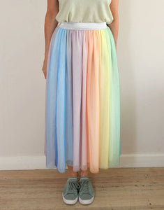 Frankies Rainbow Tulle Skirt