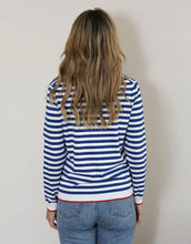 Load image into Gallery viewer, Frankie Stripe Long Sleeve Tee - Blue/White Stripe