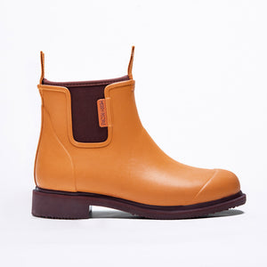 Merry People Bobbi Gumboots - Orange & Pomegranate