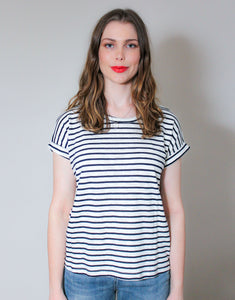 Little Lies Oscar Tee - Navy