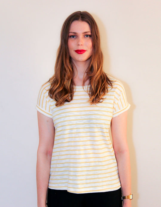 Little Lies Oscar Tee - Yellow