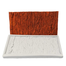 Silicone Mould - Tree Bark Rectangle