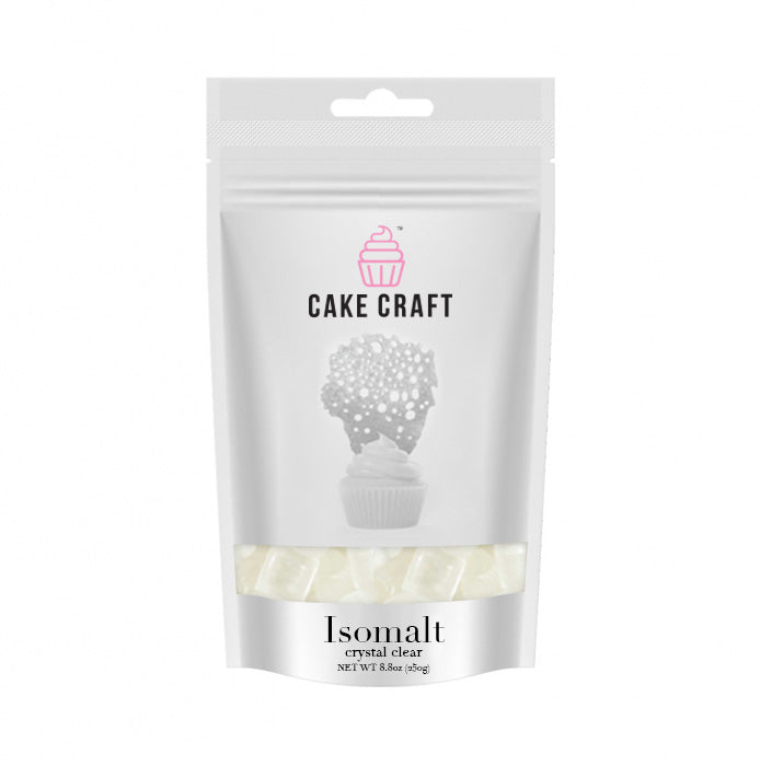 250g Cake Craft Isomalt Nibs - Clear