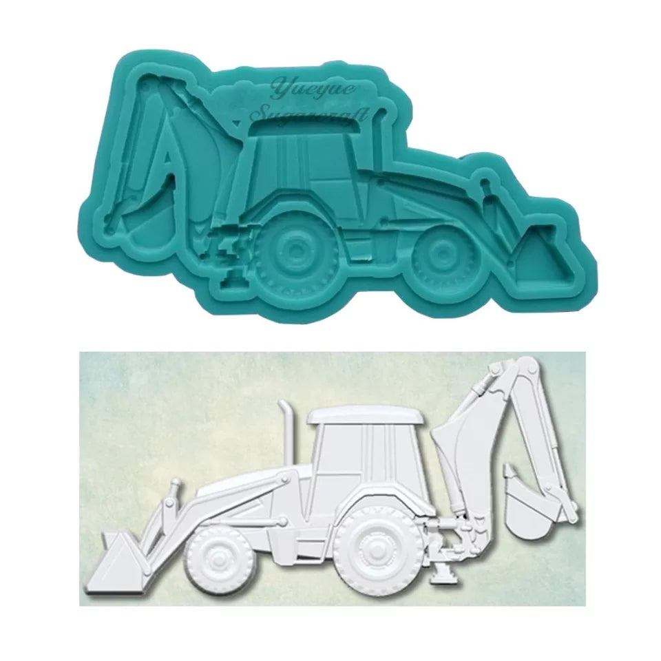 Silicone Mould - Excavator