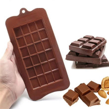 Silicone Chocolate Mould - Chocolate Block
