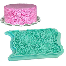 Silicone Mould - Rosette Ruffles
