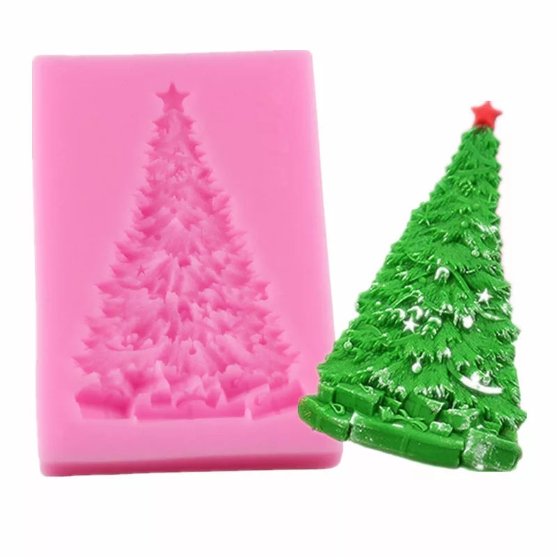 Silicone Mould - Single Christmas Tree