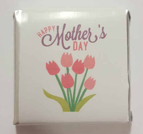 12PK Belgian Wrapped Chocolates - Happy Mothers Day