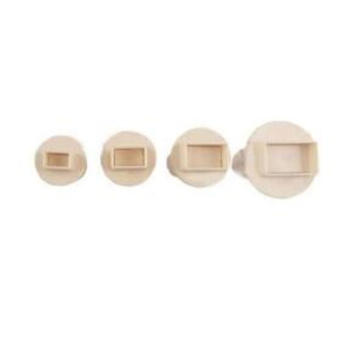 3PC Rectangle Plunger Cutter Set