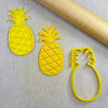 Custom Cookie Cutters 3D Embosser and Cutter Set - Pineapple