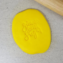 Custom Cookie Cutters Embosser - Gimme Some Sugar