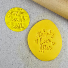 Custom Cookie Cutters Embosser - Happily Ever After