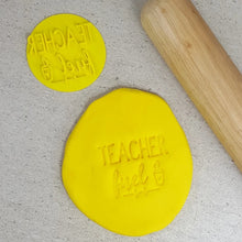 Custom Cookie Cutters Embosser - Teacher Fuel