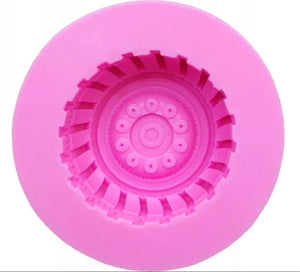 Silicone Mould - Tyre / Wheel - Large
