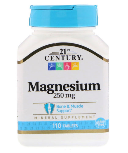110 Tablets - Magnesium 250mg