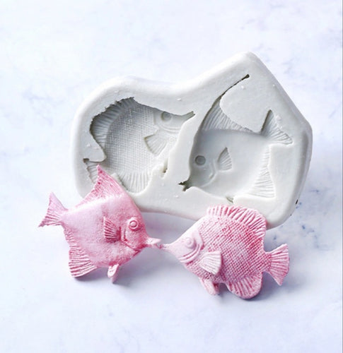 Silicone Mould - 2PC Tropical Fish