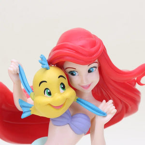 Ariel and Flounder Figurine - Large