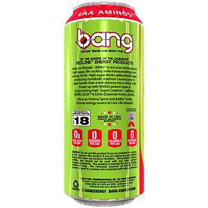 Bang Energy Drink - Candy Crisp Apple