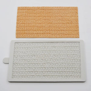 Silicone Mould - Knitted Texture