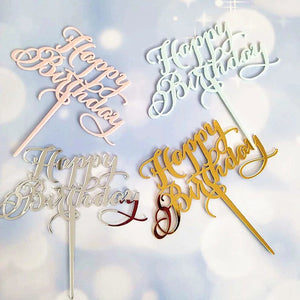 Happy Birthday Swirl Font