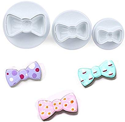 3PC Bowtie Plunger Cutter Set
