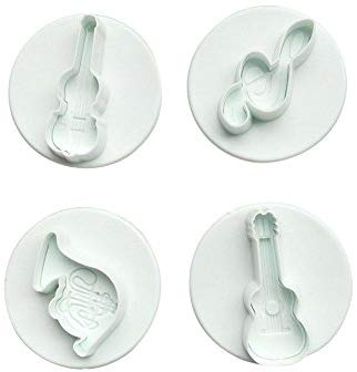 4PC  Musical Instrument Plunger Cutter Set