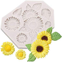 Silicone Mould - Sunflowers