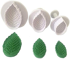 3PC Leaf Plunger Cutter Set