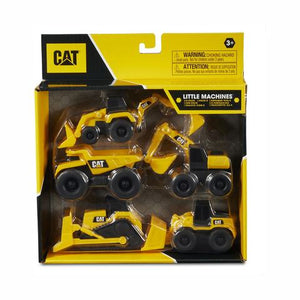 8PK CAT Little Machines - Trucks and Diggers Construction Set