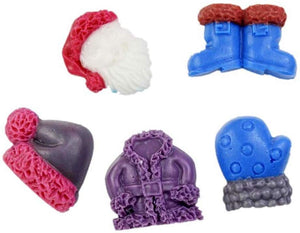 Silicone Mould - Santa Outfit Set