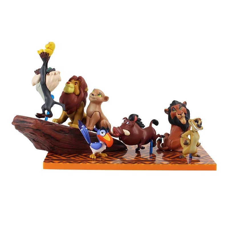 Lion King Rock Figurine Set
