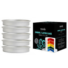 Mondo Pro Ombre / Layer Cake Tins - Set of 5