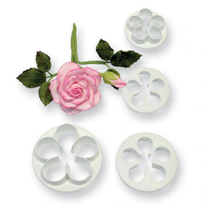 4PC 5 Petal Flower Cutter Set