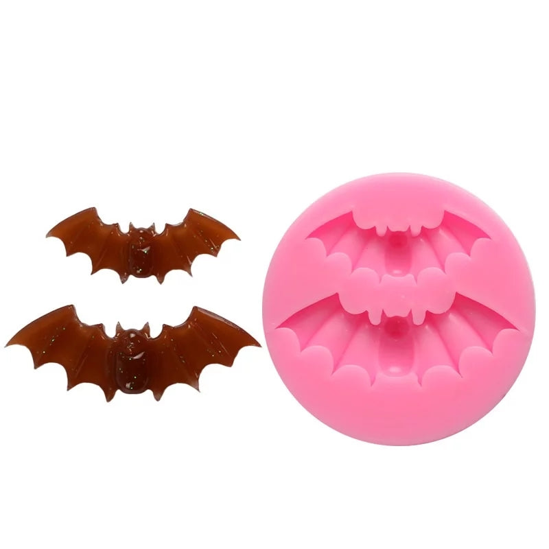 Silicone Mould - Double Bat