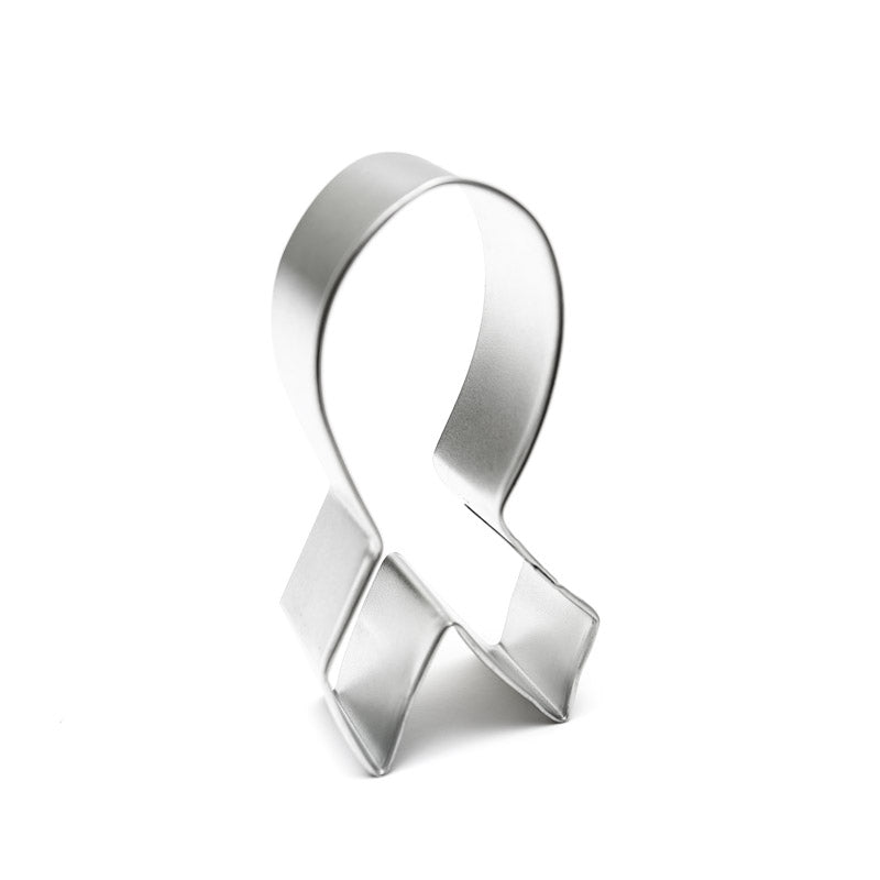 Cookie Cutter - Breast Cancer Ribbon 3.75