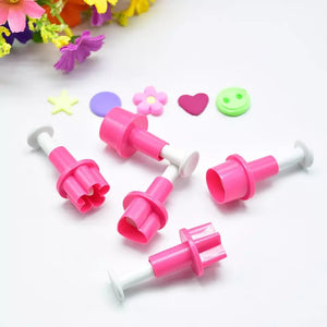 5PC Asstd Shape Plunger Cutter Set
