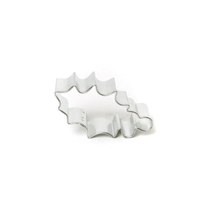 Cookie Cutter - Holly Leaf 3.25""