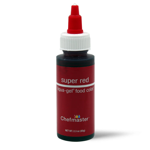 65g Chefmaster Liqua-Gel Colour - Super Red