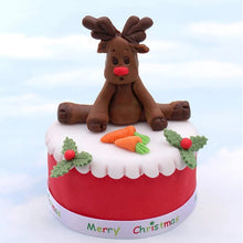 Silicone Mould - 3D Reindeer