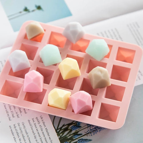Silicone Mould - 20 Cavity Polygon Cube