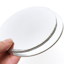 12 inch (30cm) Round 3mm Card Cake Board - Silver