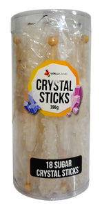 Crystal Stick Rock Candy Single - Clear
