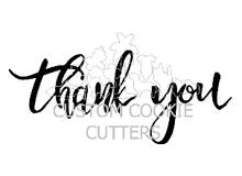 Custom Cookie Cutters Embosser - Thank You